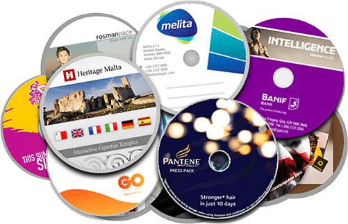 Печать на дисках CD, печать на дисках DVD